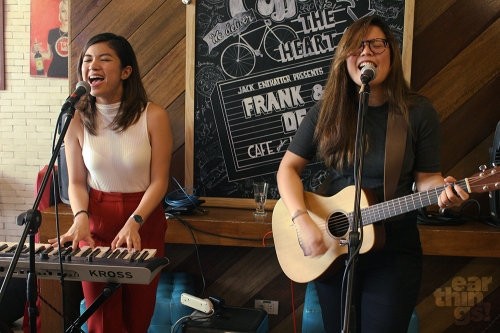 Leanne and Naara closed up the morning affair with their string of deceptively jazzy songs.